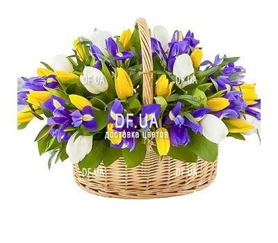 """""""Корзина весенних цветов"""" в интернет-магазине цветов df.ua"""