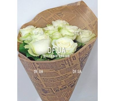 """5 white roses view 2"" in the online flower shop df.ua"