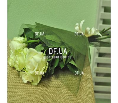 """5 white roses view 4"" in the online flower shop df.ua"