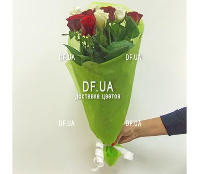 """""""11 roses - view 4"""" in the online flower shop df.ua"""