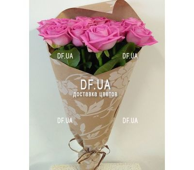 """11 pink roses - view 3"" in the online flower shop df.ua"