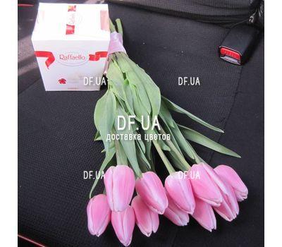 """""""11 тюльпанов букет – вид 1"""" в интернет-магазине цветов df.ua"""
