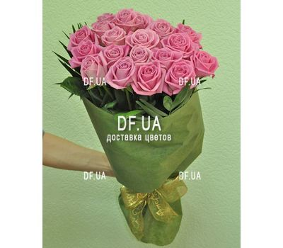 """""""19 розовых роз - вид 2"""" в интернет-магазине цветов df.ua"""