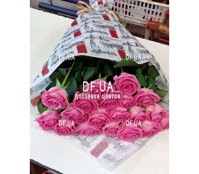 """19 pink roses - view 3"" in the online flower shop df.ua"