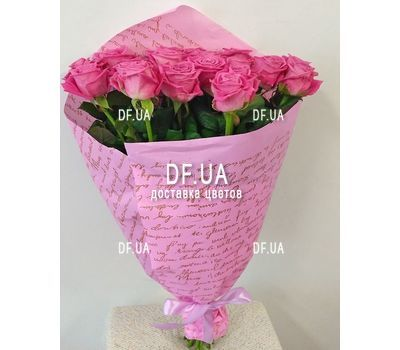 """19 pink roses - view 4"" in the online flower shop df.ua"