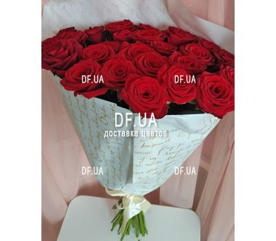 """""""27 красных роз - вид 2"""" в интернет-магазине цветов df.ua"""