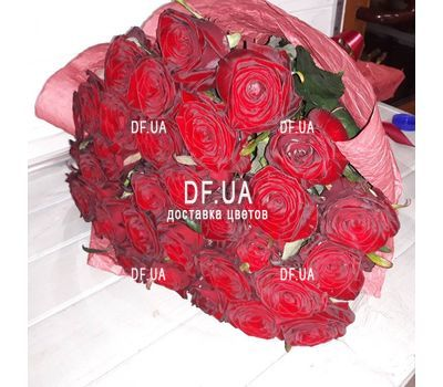 """""""27 красных роз - вид 4"""" в интернет-магазине цветов df.ua"""