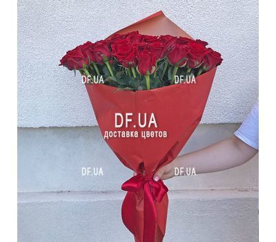 """45 red roses - view 2"" in the online flower shop df.ua"