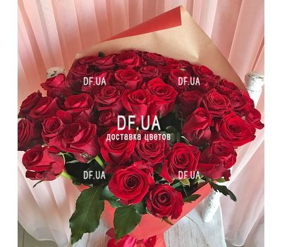 """45 red roses - view 3"" in the online flower shop df.ua"