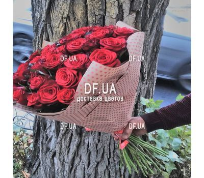 """45 red roses - view 4"" in the online flower shop df.ua"
