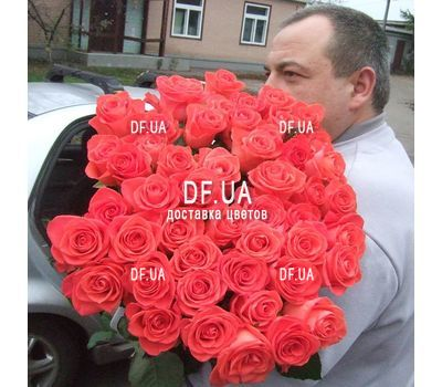 """51 roses bouquet - view 1"" in the online flower shop df.ua"