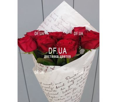 """9 red roses - view 4"" in the online flower shop df.ua"