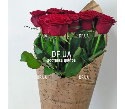 """9 red roses - view 5"" in the online flower shop df.ua"