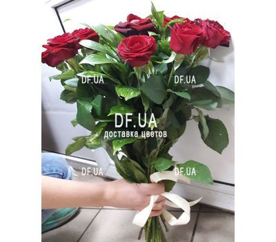 """Bouquet of 11 red roses - view 4"" in the online flower shop df.ua"