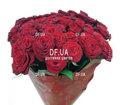 """Bouquet of 29 red roses - wiev 1"" in the online flower shop df.ua"
