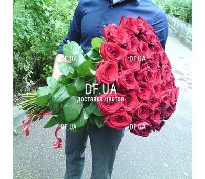 """""""Букет 35 червоних троянд - вид 2"""" в интернет-магазине цветов df.ua"""