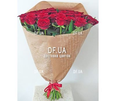 """Bouquet of 35 red roses - view 3"" in the online flower shop df.ua"