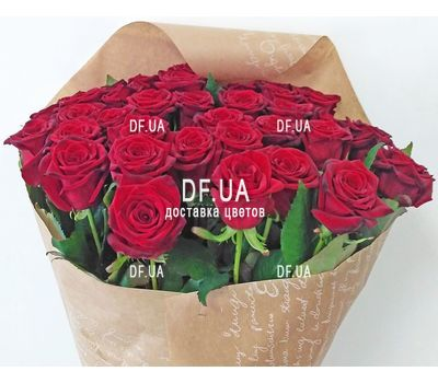 """Bouquet of 35 red roses - view 4"" in the online flower shop df.ua"