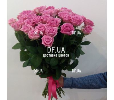 """Bouquet of 35 pink roses - view 3"" in the online flower shop df.ua"