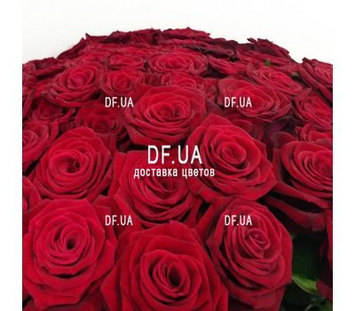 """Bouquet 51 red rose - view 3"" in the online flower shop df.ua"