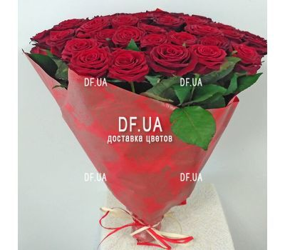 """Bouquet 51 red rose - view 4"" in the online flower shop df.ua"