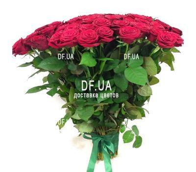 """Bouquet 51 red rose - view 5"" in the online flower shop df.ua"