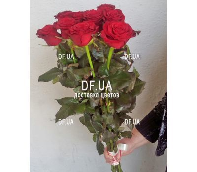 """Bouquet of 11 roses - view 3"" in the online flower shop df.ua"