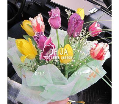 """""""Букет из 11 тюльпанов – вид 10"""" в интернет-магазине цветов df.ua"""