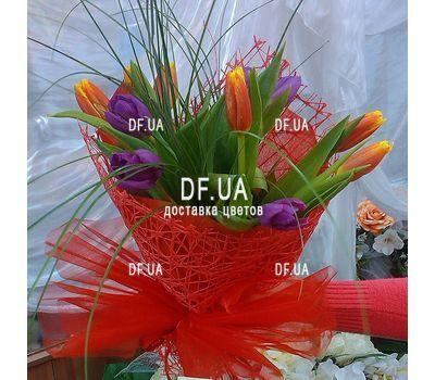 """""""Букет из 11 тюльпанов – вид 11"""" в интернет-магазине цветов df.ua"""