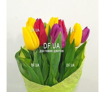 """""""Букет из 11 тюльпанов – вид 3"""" в интернет-магазине цветов df.ua"""