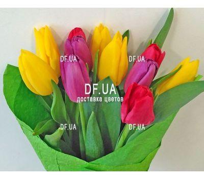 """""""Букет из 11 тюльпанов – вид 5"""" в интернет-магазине цветов df.ua"""