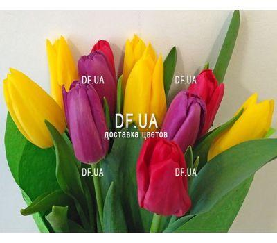 """""""Букет из 11 тюльпанов – вид 6"""" в интернет-магазине цветов df.ua"""