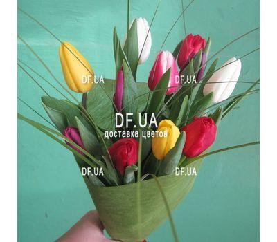 """""""Букет из 11 тюльпанов – вид 8"""" в интернет-магазине цветов df.ua"""