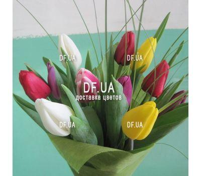 """""""Букет из 11 тюльпанов – вид 9"""" в интернет-магазине цветов df.ua"""