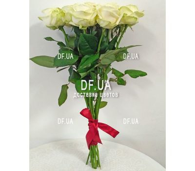 """""""Bouquet of 15 white roses - view 4"""" in the online flower shop df.ua"""