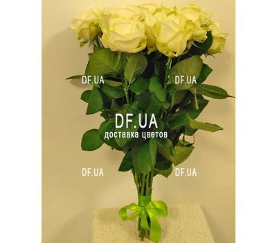 """Bouquet of 15 roses in craft - view 2"" in the online flower shop df.ua"