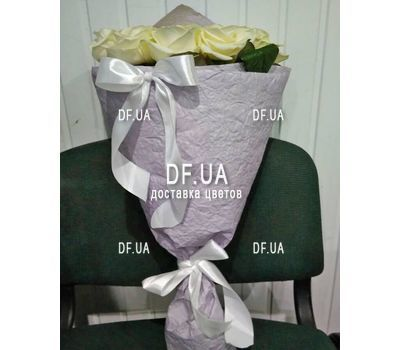 """Bouquet of 15 roses in craft - view 4"" in the online flower shop df.ua"