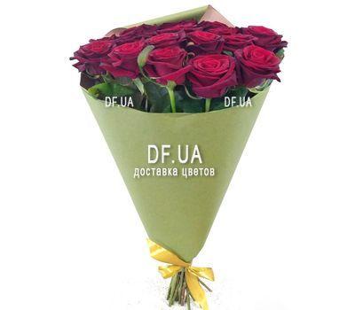 """""""Букет із 17 червоних троянд - вид 3"""" в интернет-магазине цветов df.ua"""