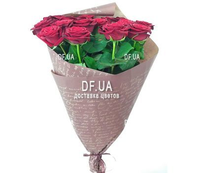 """Bouquet of 17 red roses - view 5"" in the online flower shop df.ua"