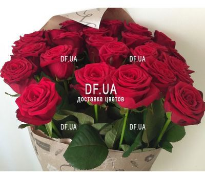 """Bouquet of 19 red roses - view 5"" in the online flower shop df.ua"