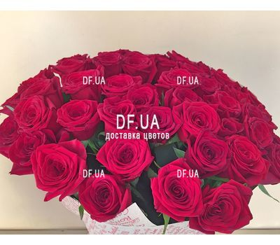 """Bouquet of 25 red roses - wiev 2"" in the online flower shop df.ua"