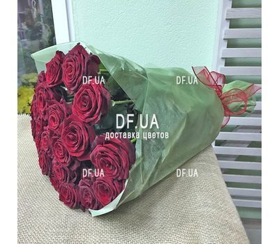 """Bouquet of 27 red roses - wiev 1"" in the online flower shop df.ua"