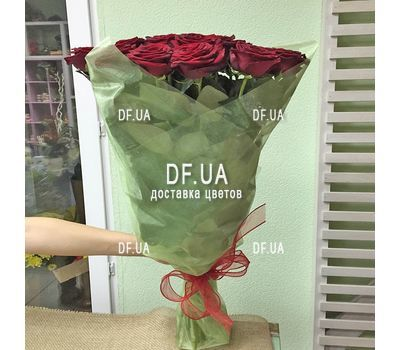"""Bouquet of 27 red roses - wiev 2"" in the online flower shop df.ua"