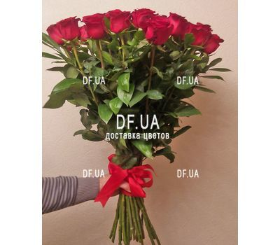 """Bouquet of 27 red roses - wiev 3"" in the online flower shop df.ua"