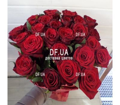 """Bouquet of 31 roses - wiev 1"" in the online flower shop df.ua"