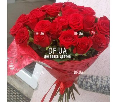 """Bouquet of 31 roses - wiev 2"" in the online flower shop df.ua"