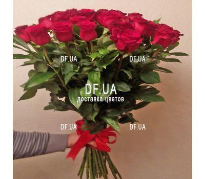 """Bouquet of 33 roses - wiev 1"" in the online flower shop df.ua"