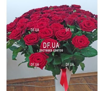 """Bouquet of 45 red roses - view 2"" in the online flower shop df.ua"