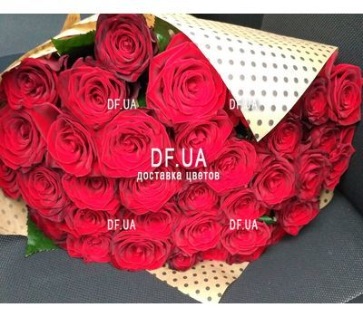 """Bouquet of 47 red roses - view 3"" in the online flower shop df.ua"