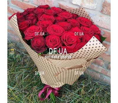 """Bouquet of 47 red roses - view 4"" in the online flower shop df.ua"